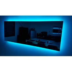 Mirolia : espejo climatizada, música, retroiluminada