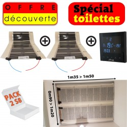 PACK Toilettes 2S8
