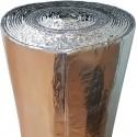 R'Acoustic Alu (30m²)  - Ref : B510 - Isolant thermoacoustique textile par réflexion 10mm pour sol et mur