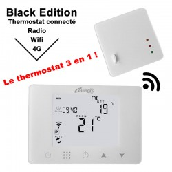 Thermostat wi-fi and 4G programmable for ceiling radiant