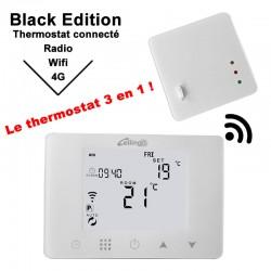 Thermostat angeschlossen decken-und fußbodenheizung