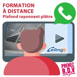 FREE TRAINING CEILING RADIANT PLASTER. Duration : 30 minutes