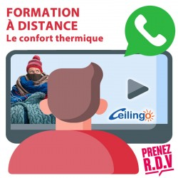 DISTANCE LEARNING THERMAL COMFORT. Duration : 30 minutes