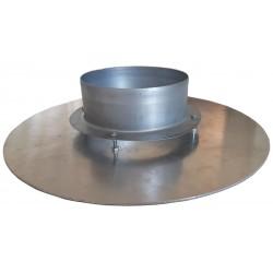 Bouche d'insufflation plafond en aluminium eClim