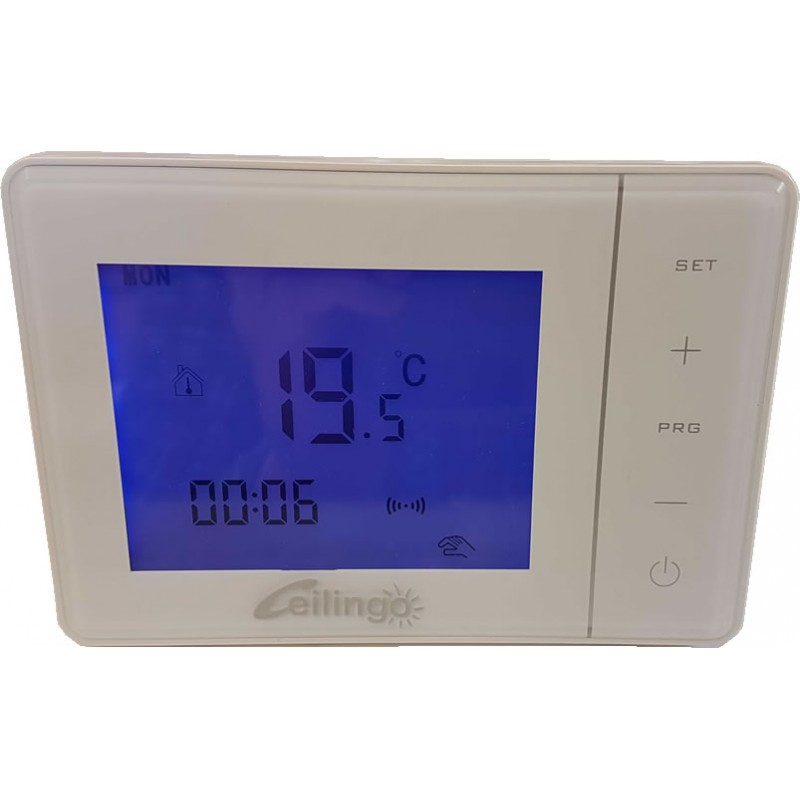 Programmable Thermostat For Radiant Ceiling Heat Shelly