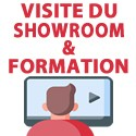 Classroom training + visit showroom