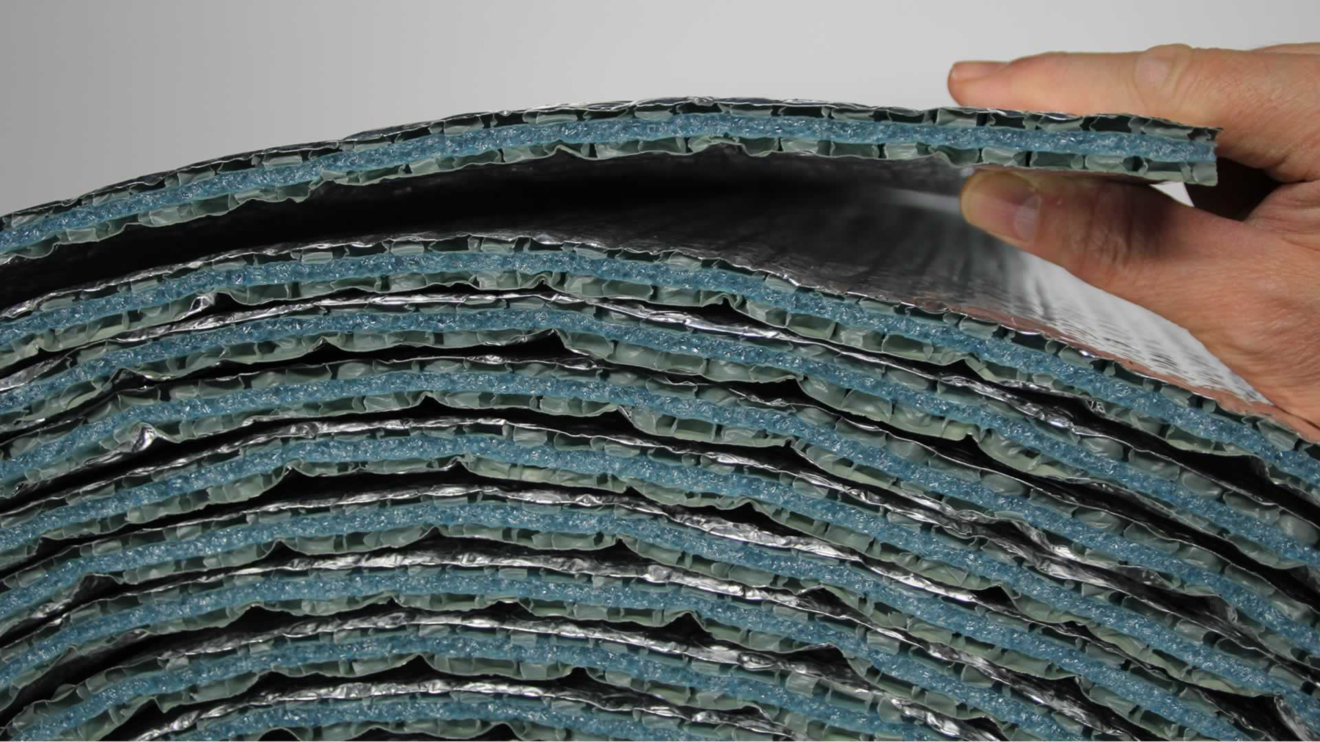 R'BULL pro 13, isolant mince pour plafond tendu