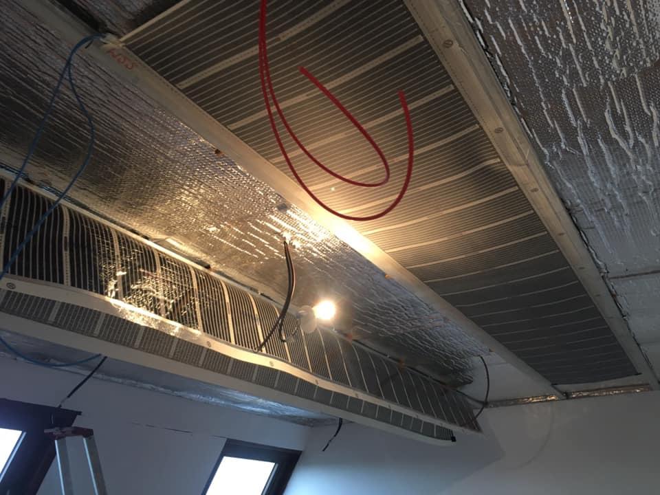 eFilm meilleur plafond chauffant rayonnant