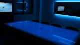 Table chauffante musicale rétro-éclairée